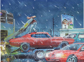 The Life Story Of A 1970 Chevy Chevelle (Part 32) by FastLaneIllustration