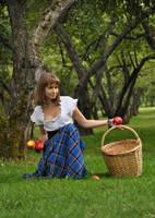 Apple Basket III by IrisErelar