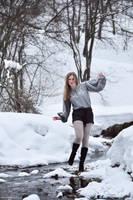 Winter Angeline IV by IrisErelar