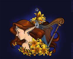 Harp by IrisErelar