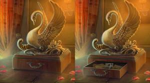 Swan_casket by IrisErelar
