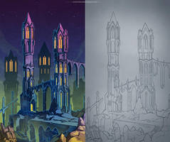Towers by IrisErelar