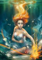 Under the water by IrisErelar