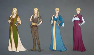 Asta_costumes_simple colour by IrisErelar