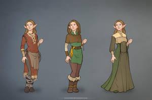 Rif_costumes_simple colour by IrisErelar