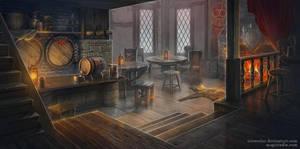 Tavern by IrisErelar