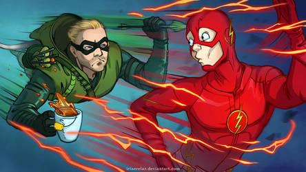 Arrow_Flash_cover by IrisErelar