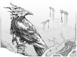 The Raven God by IrisErelar