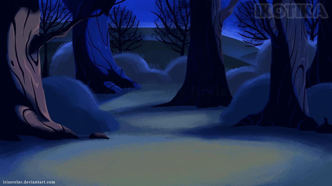 Forest_background by IrisErelar