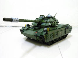 Lego Grizzly Tank (RA2) 6 by SOS101