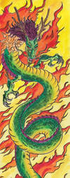 Chinese dragon by CaptainZep