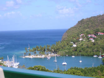 View of Caribbean Sea by n0fear88