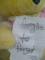 forgive to forget by LoveLiveLaugh123