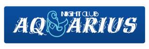 Night club Aquarius logo by plechi