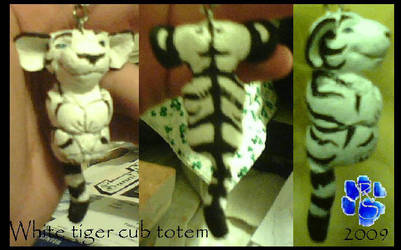 Tiger cub totem by Sharpe19
