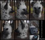Greyscale Hyena by Sharpe19