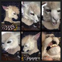 White alpaca by Sharpe19