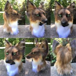Fox headdress AUCTION by Sharpe19