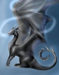 Celestial dragon by Lena-Lucia-dragon