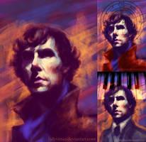 Sherlock... again by ladynlmda