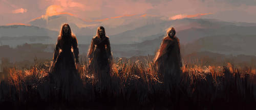 Three Witches by ladynlmda