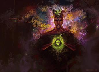 Four Elements: Earth by ladynlmda