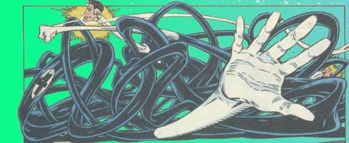 La Guerra del Infinito Mr. Fantastic vs by reyck