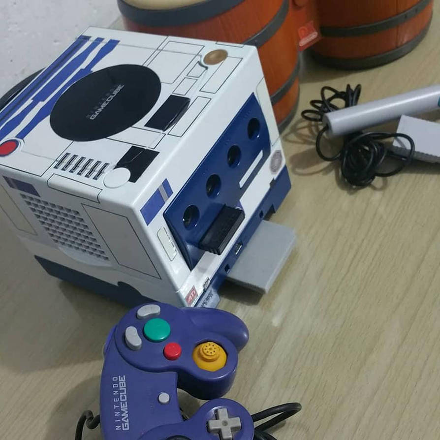 Gamecube R2d2 by reyck