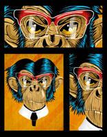 Chimp by skala-pl