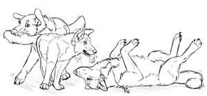 Ash, Don't Encourage Him! by JoyfullyIronic
