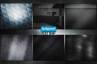 50 Metal Textures Bundle by BackgroundStore
