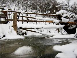 Winter landscape by TroneFP