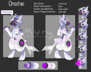 Omochao the Protogen by PeroxidePrinces