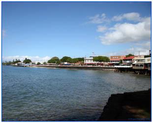 Lahaina Town Shoreline by bryandavid