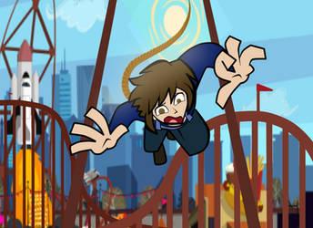 Saltando del pendulo by Mortyn