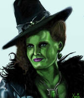 Zelena - The Wicked Witch by Onceuponamidnightsun