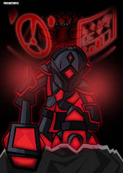 Dwoss Battle Armor by frikineitor143