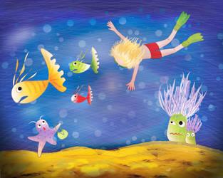 Sea Adventures by Delen