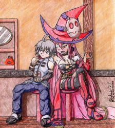A Witch and her Drinking Rym by TheLazyAuthor