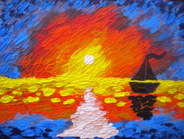 Flames On The Water by NeepTheSheep