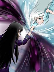 Dark vs Ice by bashkun