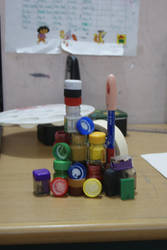 color bottle castel by love-to-imagine
