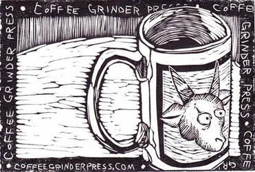 coffeegrinderpress postcard by holdensdad