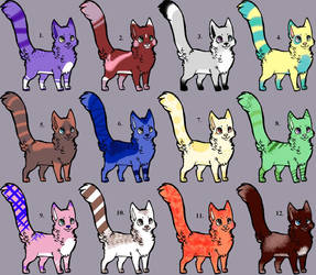 Imaginary Pet Cat Adoptables #1 OPEN by LilySketchesWarriors