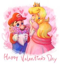 Happy Valentine's Day Princess! by VanaBananaSplit