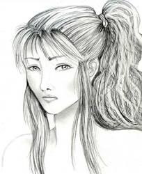 adult Feru portait by NanakoHarrison
