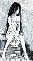 Sadako quick pic by NanakoHarrison