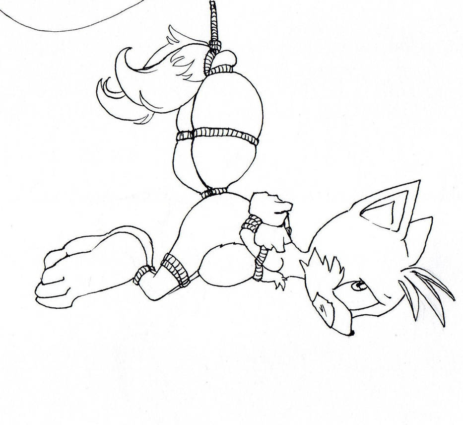 Tails hanging there by NanakoHarrison