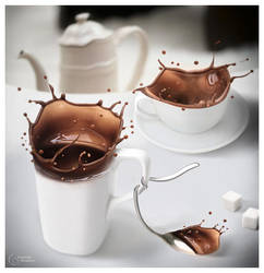 hot milk chocolate by StanOd