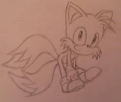 SKETCH- Tails by SEGA-Sonic15